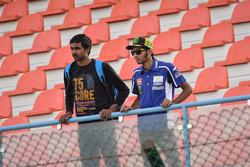 Ein großer Fan von Valentino Rossi, Yamaha Factory Racing