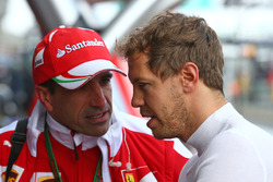 Marc Gene, Ferrari testrijder met Sebastian Vettel, Ferrari