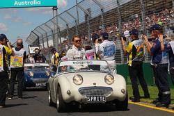 Nico Rosberg, Mercedes AMG F1 Team, bei der Fahrerparade