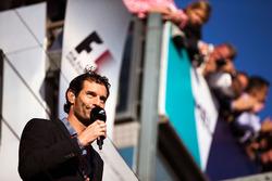 Mark Webber, Porsche Team WEC Fahrer und Channel 4 Moderator