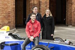 Alejandro Agag, CEO Formel E; Daniel Abt, ABT Schaeffler Audi Sport und Cornelia Yzer, Berlin Senator für Wirtschaft, Technologie und Forschung