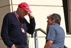 Niki Lauda, Presidente non-esecutivo Mercedes con Gerhard Berger