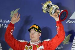 Podio: secondo Kimi Raikkonen, Ferrari