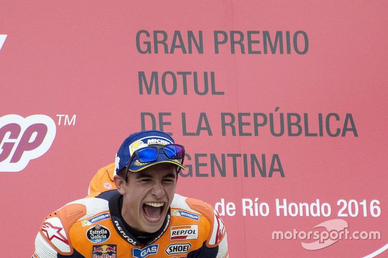 Гран При Аргентины. Победа