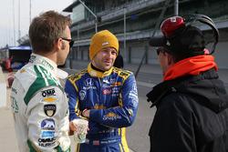 Ed Carpenter, Ed Carpenter Racing, Chevrolet; Marco Andretti, Andretti Autosport, Honda