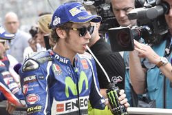Tercer lugar para Valentino Rossi, Yamaha Factory Racing