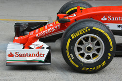 Ferrari burun detay