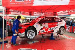 Евгений Новиков и Илка Майнор, Ford Focus RS WRC 09