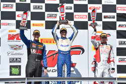 Podium GT-Cup: 1. Aled Udell, Global Motorsports Group; 2. Corey Fergus, Motorsports Promotions; 3. Sloan Urry, TruSpeed Autosport