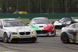 André Grammatico, BMW Espace Bienvenue, BMW M3 GT4; Alessandro Fogliani, Patrick Zamparini, Villorba Corse, Maserati GranTurismo MC GT4