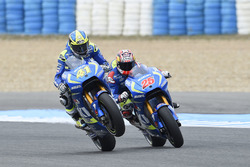 Aleix Espargaro, Team Suzuki MotoGP y Maverick Viñales, Team Suzuki MotoGP