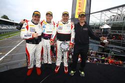 Sieger AM-Class: #87 AKKA ASP, Mercedes-AMG GT3: Jean-Luc Beaubelique, Maurice Ricci, Gilles Vannelet