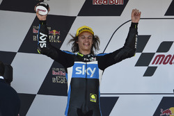 Podium: second place Nicolo Bulega, Sky Racing Team VR46
