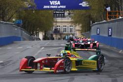 Daniel Abt, ABT Schaeffler Audi Sport, führt