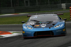 #100 Attempto Racing, Lamborghini Huracan GT3: Max Van Splunteren, Jeroen Mul, Louis Machiels