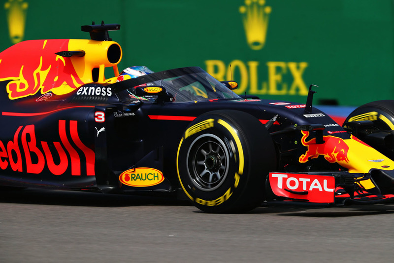 Aeroscreen von Red Bull Racing