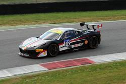 #112 Kessel Racing, Ferrari 458: Rick Lovat