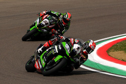 Jonathan Rea, Kawasaki Racing Team e Tom Sykes, Kawasaki Racing Team