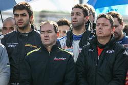 Omar Martinez, Martinez Competicion Ford, Guillermo Ortelli, JP Racing Chevrolet, Martin Serrano, Coiro Dole Racing Dodge y Pablo Ortega