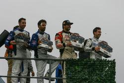 Martin Serrano, Coiro Dole Racing Dodge ve Martin Basso, Mauricio Lambiris, Coiro Dole Racing Torino ve Julian Santero