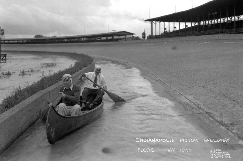 1933: Overstroming in Indianapolis