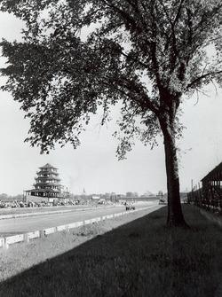 Pagoda tower and tree