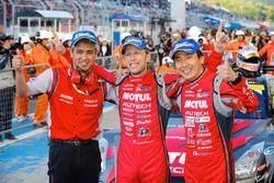 GT500 i vincitori della gara Tsugio Matsuda, Ronnie Quintarelli, Nismo