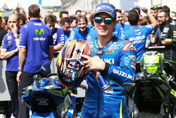 Terzo posto Maverick Viñales, Team Suzuki MotoGP