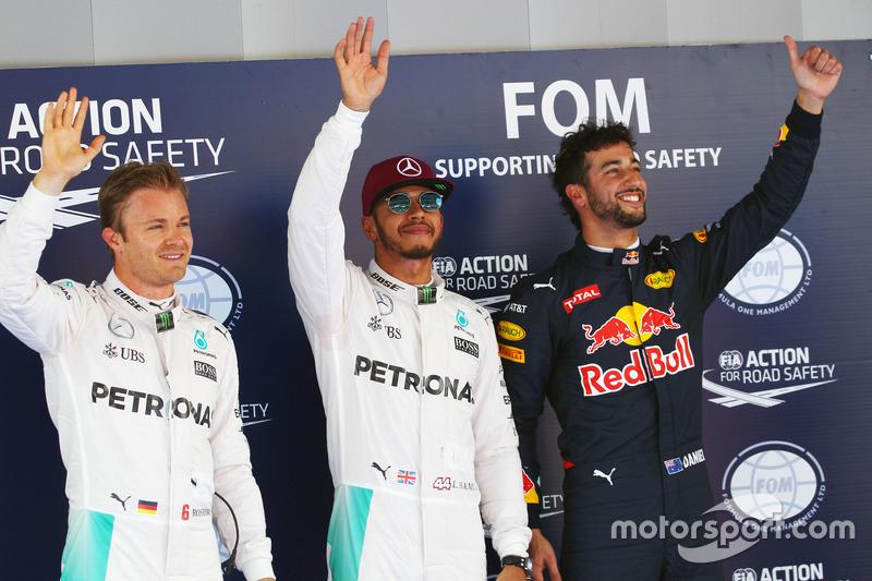 Ricciardo, tras la primera fila plateada