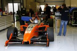 Quel plaisir de voir la Panoz DP01 Champ car de retour!