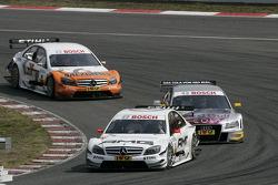 Paul di Resta, Team HWA AMG Mercedes AMG Mercedes C-Klasse, Martin Tomczyk, Audi Sport Team Abt Audi A4 DTM, Gary Paffett, Team HWA AMG Mercedes AMG Mercedes C-Klasse