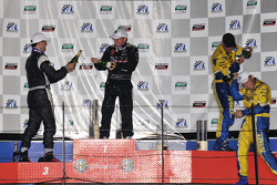 GS podium celebration