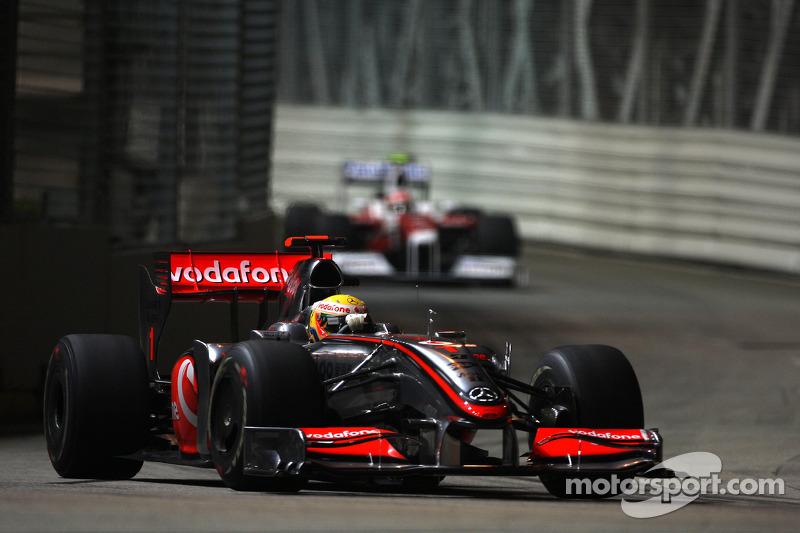 2009 : Lewis Hamilton, McLaren-Mercedes MP4-24