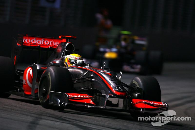 2009: Lewis Hamilton, McLaren Mercedes MP4/24