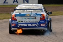 Jason Plato flames
