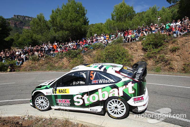 Matthew Wilson e Scott Martin, Stobart VK M-Sport Ford Rally Team Ford Focus RS WRC 08
