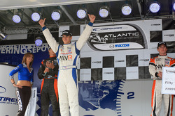 Podium: race winner and 2009 Atlantic Series champion John Edwards, Newman Wachs Racing