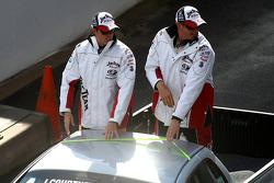 Driver Parade: #17 Jim Beam Racing: Steven Johnson, James Courtney