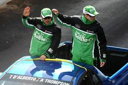 Driver Parade: #55 The Bottle-O Racing Team: Tony D'Alberto, Andrew Thompson