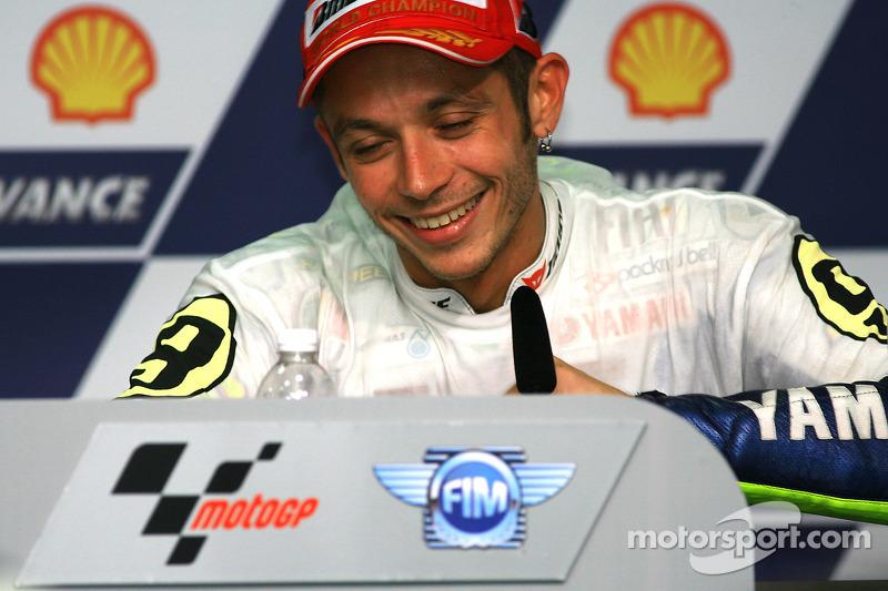 Post conferencia de prensa: Valentino Rossi, Fiat Yamaha Team