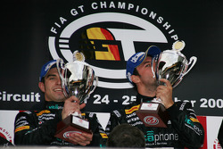 GT1 podium: class and overall winners Alessandro Pier Guidi and Matteo Bobbi