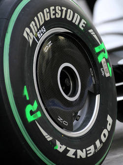 BMW Sauber F1 Team wheel