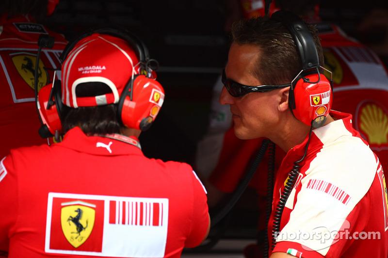 Felipe Massa, Scuderia Ferrari eh Michael Schumacher, Testrijder, Scuderia Ferrari