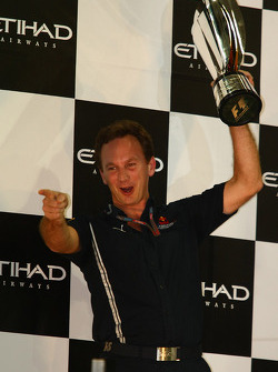 Podio: Christian Horner, Red Bull Racing, Director deportivo