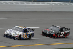 John Andretti, Earnhardt Ganassi Racing Chevrolet, David Stremme, Penske Racing Dodge