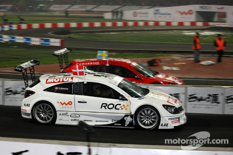 Quarter final, race 2: Tom Kristensen and Mattias Ekström