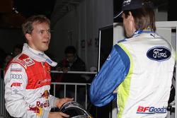 Mattias Ekström and Marcus Gronholm