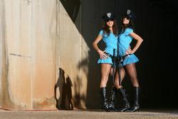 The charming Rizla Suzuki MotoGP girls