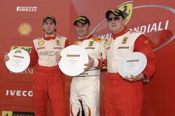 Ferrari Challenge: FCE Trofeo Pirelli, race 1 Podyum