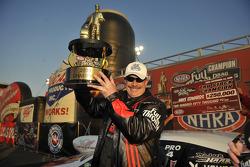 NHRA Pro Stock 2009 champion Mike Edwards